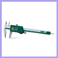 DIGITAL CALIPER WITH ROUND DEPTH BAR